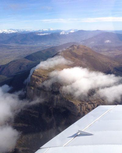 Oroel desde avioneta en vuelo turístico[2682]